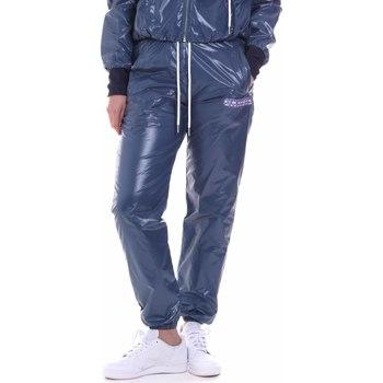 Oblečenie Ženy Tepláky a vrchné oblečenie La Carrie 092M-TP-441 Modrá
