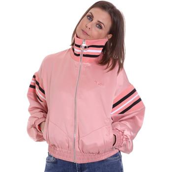 Oblečenie Ženy Saká a blejzre Fila 687931 Ružová