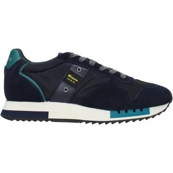 Topánky Muži Módne tenisky Blauer F0QUEENS01/CAM Modrá