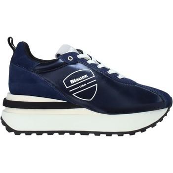 Topánky Muži Módne tenisky Blauer F0MABEL01/NYL Modrá