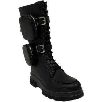 Topánky Ženy Polokozačky Gold&gold B20 GA639 čierna