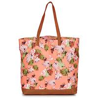 Tašky Ženy Veľké nákupné tašky  Superdry LARGE PRINTED TOTE Ružová