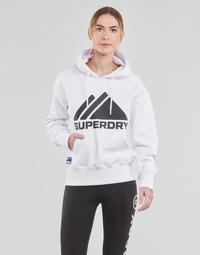 Oblečenie Ženy Mikiny Superdry MOUNTAIN SPORT MONO HOOD Biela