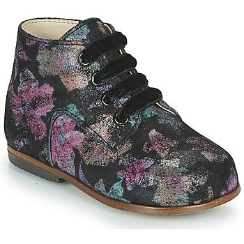 Topánky Dievčatá Členkové tenisky Little Mary MILOTO Čierna