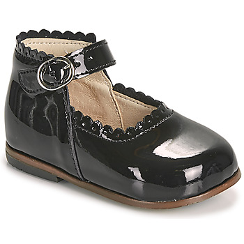 Topánky Dievčatá Balerínky a babies Little Mary VOCALISE Čierna