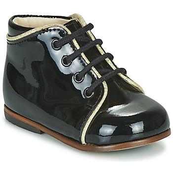 Topánky Dievčatá Členkové tenisky Little Mary MEGGIE Čierna