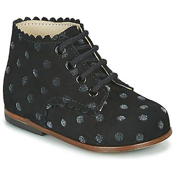 Topánky Dievčatá Členkové tenisky Little Mary VIVALDI Čierna
