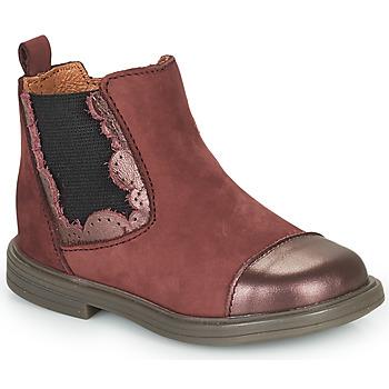Topánky Dievčatá Polokozačky Little Mary ELVIRE Bordová
