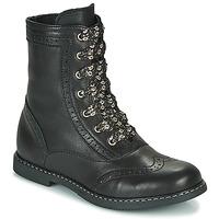 Topánky Dievčatá Polokozačky Little Mary LYSIANE Čierna