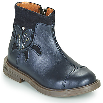 Topánky Dievčatá Polokozačky Little Mary ELIANE Modrá