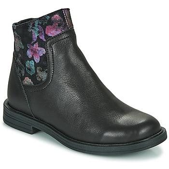 Topánky Dievčatá Polokozačky Little Mary ELIETTE Čierna