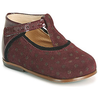 Topánky Dievčatá Členkové tenisky Little Mary BETHANY Bordová