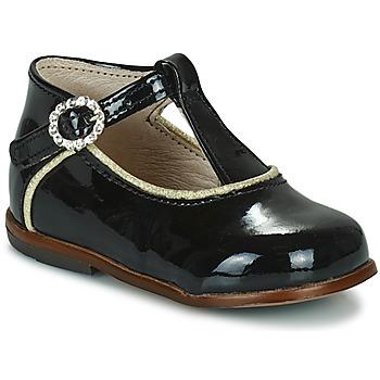 Topánky Dievčatá Členkové tenisky Little Mary BETHANY Čierna