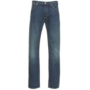 Oblečenie Muži Rovné džínsy Levi's 501 THE ORIGINAL Modrá