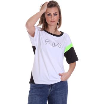 Oblečenie Ženy Tričká s krátkym rukávom Fila 683145 Biely