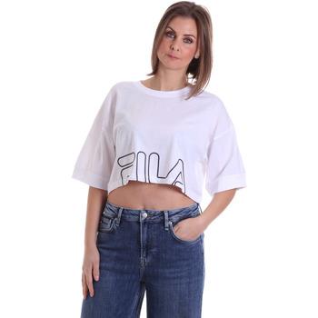 Oblečenie Ženy Tričká s krátkym rukávom Fila 683170 Biely