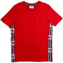 Oblečenie Deti Tričká s krátkym rukávom Fila 688118 Červená