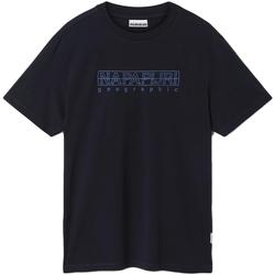 Oblečenie Muži Tričká s krátkym rukávom Napapijri NP0A4EOB Modrá
