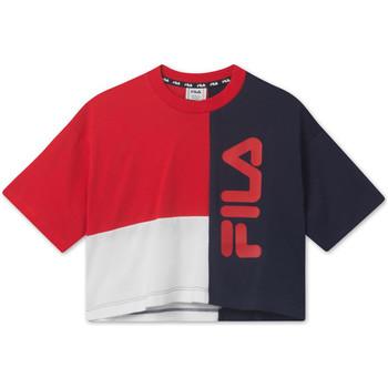 Oblečenie Deti Tričká s krátkym rukávom Fila 687998 Červená