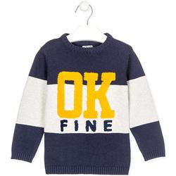 Oblečenie Deti Svetre Losan 025-5005AL Modrá