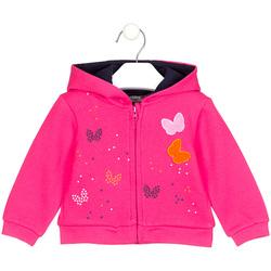 Oblečenie Dievčatá Mikiny Losan 028-6017AL Ružová