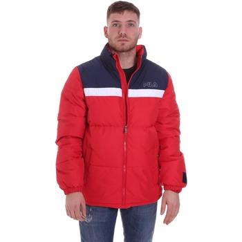 Oblečenie Muži Vyteplené bundy Fila 683201 Červená