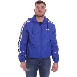 Oblečenie Muži Bundy  Fila 687701 Modrá