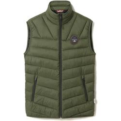 Oblečenie Muži Vyteplené bundy Napapijri NP0A4ENO Zelená