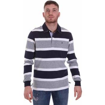 Oblečenie Muži Polokošele s dlhým rukávom Navigare NV30026 Modrá