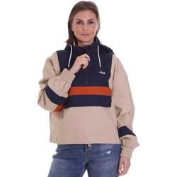 Oblečenie Ženy Bundy  Fila 687922 Béžová