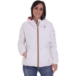 Oblečenie Ženy Bundy  K-Way K00A2F0 Biely