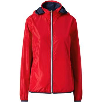 Oblečenie Ženy Bundy  Ea7 Emporio Armani 3ZTB03 TN18Z Červená