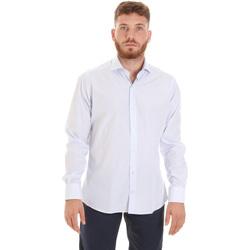 Oblečenie Muži Košele s dlhým rukávom Les Copains 20P.922 P3196SL Biely