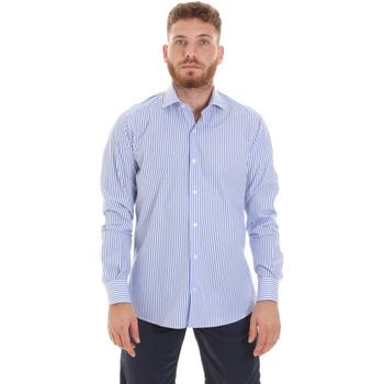 Oblečenie Muži Košele s dlhým rukávom Les Copains 20P.623 P3196SL Modrá