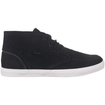 Topánky Muži Členkové tenisky Lacoste Sevrin Mid Čierna