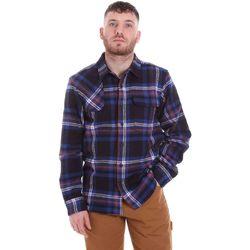Oblečenie Muži Košele s dlhým rukávom Dickies DK520352EL01 Modrá