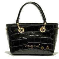 Tašky Ženy Veľké nákupné tašky  Atelier Enai ROSI NOIR