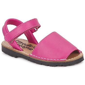 Topánky Dievčatá Sandále Citrouille et Compagnie BERLA Fuksiová