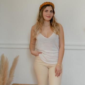 Oblečenie Ženy Blúzky Céleste INSEPARABLE Krémová