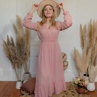 Oblečenie Ženy Dlhé šaty Céleste COLOMBE Ružová