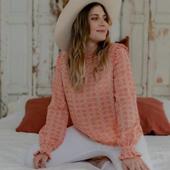 Oblečenie Ženy Blúzky Céleste HIRONDELLE Ružová