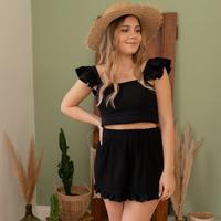 Oblečenie Ženy Šortky a bermudy Céleste MAGNOLIA Čierna