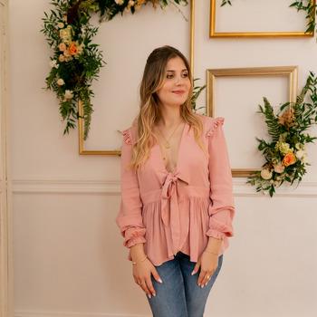 Oblečenie Ženy Blúzky Céleste ROSSIGNOL Ružová
