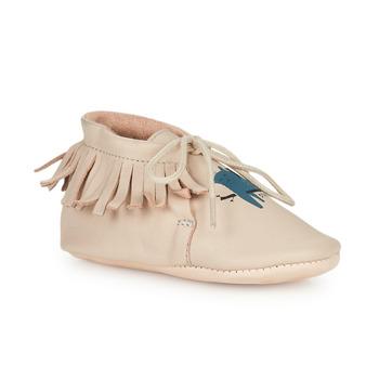 Topánky Deti Papuče Easy Peasy MEXIMOO Béžová