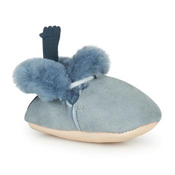 Topánky Deti Papuče Easy Peasy MINIMOO Modrá