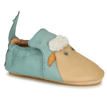 Topánky Deti Papuče Easy Peasy BLUBLU MOUTON Modrá