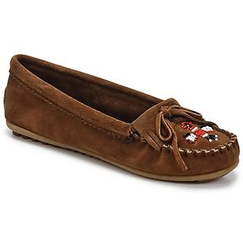 Topánky Ženy Mokasíny Minnetonka THUNDERBIRD II Hnedá
