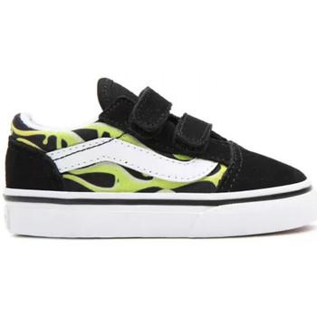 Topánky Deti Skate obuv Vans Old skool v Čierna