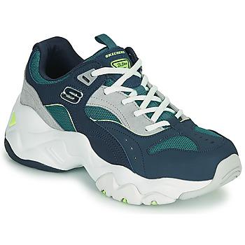 Topánky Ženy Nízke tenisky Skechers D'LITES 3.0/OCEAN CLOUD Námornícka modrá