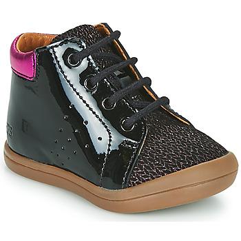 Topánky Dievčatá Členkové tenisky GBB NAHIA Čierna